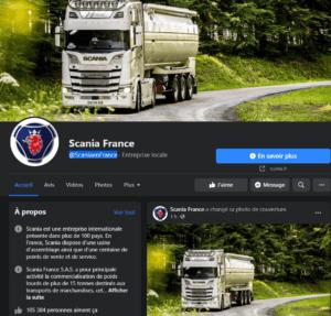 Facebook SCANIA FRANCE